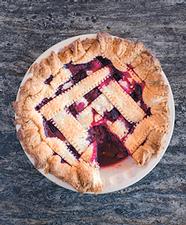 talley farms' cookbook - raspberry pie
