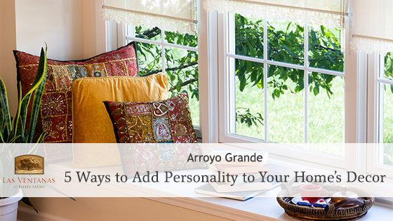 5 Ways to Add Personality to Your Home's Decor